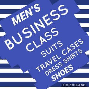 CLOTHING AND ACCESSORIES FOR THE BUSINESS MAN